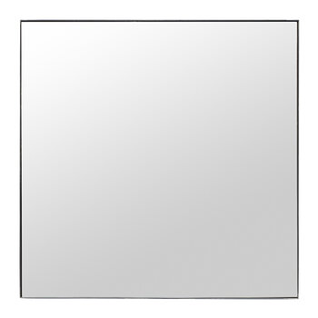 Square Raw Mirror with Frame