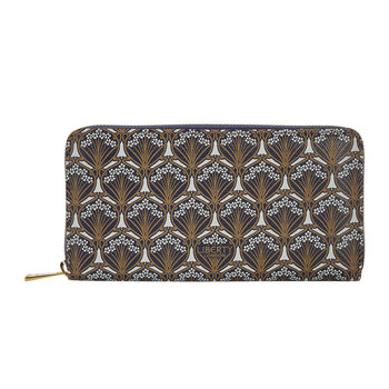 Iphis Large Zip Wallet - Sand