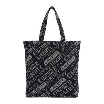 Logo Print Tote Bag - Large