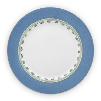 La Majorelle Dinner Plate - Set of 2 - Blue