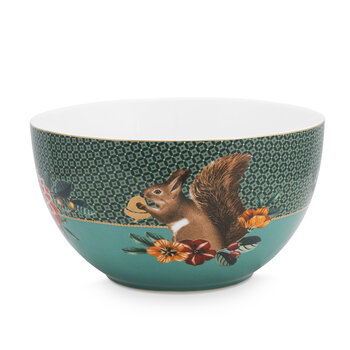 Winter Wonderland Cereal Bowl - Green