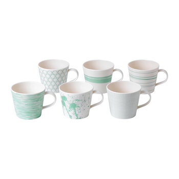 Pacific Mugs - Set of 6 - Mixed