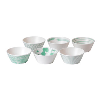 Pacific Tapas Bowls - Set of 6 - Mixed