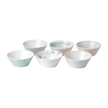 Pacific Cereal Bowls - Set of 6 - Mixed