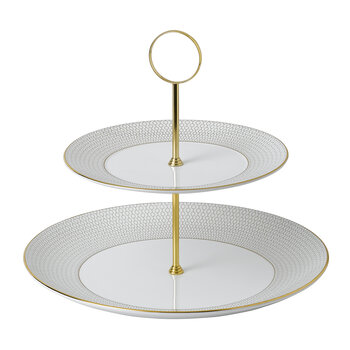 Arris Cake Stand - 2 Tier