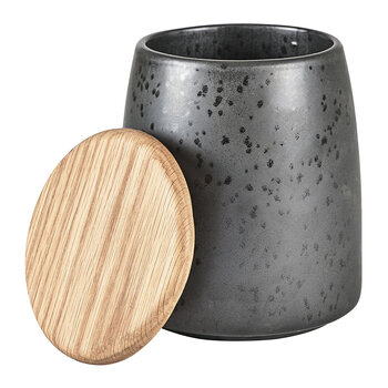Jar with Lid - Black