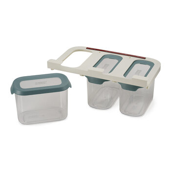 Cupboard Store Food Storage - Set of 3 - 1.3L - Dark Opal