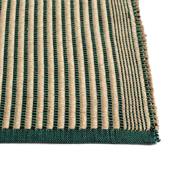 Tapis Rug - Black/Green