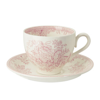 Pink Asiatic Pheasant Teacup