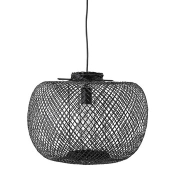 Bamboo Pendant Light - Black