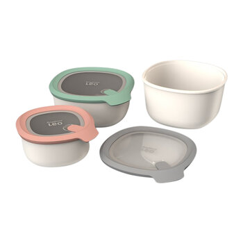 Covered Bowl Set - 3 Pieces