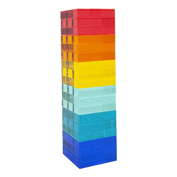 Lucite Jumbling Tower Game