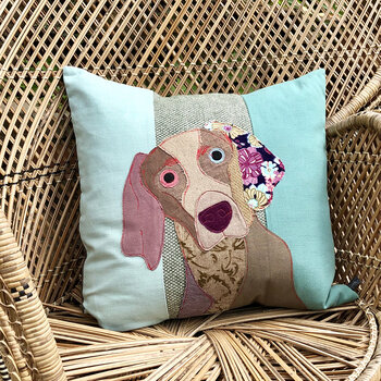 Otto the Weimaraner Cushion - 50x50cm