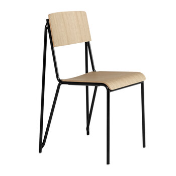Petit Standard Chair - Black/Oak