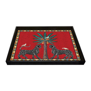 Mosaico Tray - Red - Large