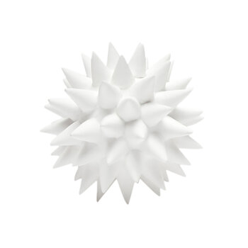 Irma Porcelain Ornament - White