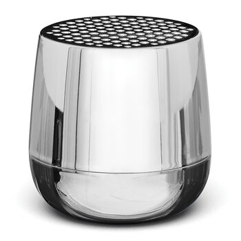 Haut-Parleur Bluetooth Mino+ - Chrome Métallique