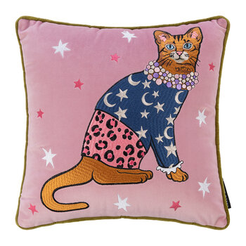 Fashion Cats Star and Moon Cushion