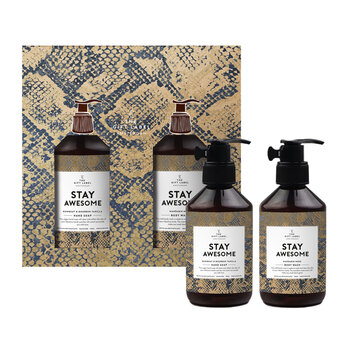 Christmas Hand & Body Wash Gift Set - Stay Awesome