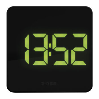 Orbatron Alarm Clock - Black/Green