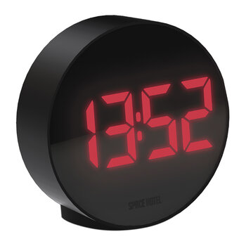 Spheratron Alarm Clock - Black/Red