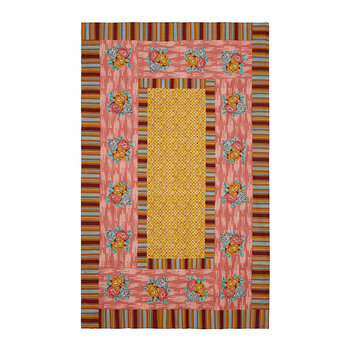 Paradise Garden Tablecloth - Old Pink
