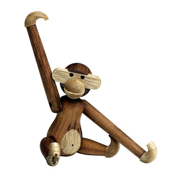 Monkey Wooden Figurine - Mini