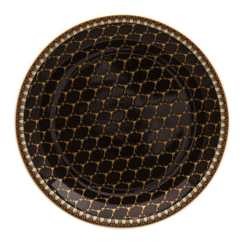 Gordon Castle Antler Trellis Coaster - Set of 4 - Black