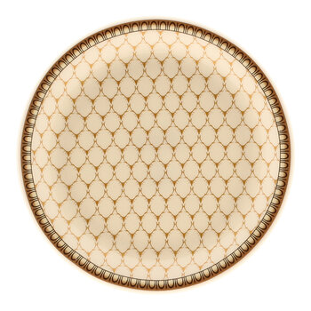 Gordon Castle Antler Trellis Coaster - Set of 4 - Ivory