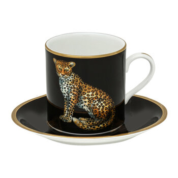 Magnificent Wildlife Coffee Cup & Saucer