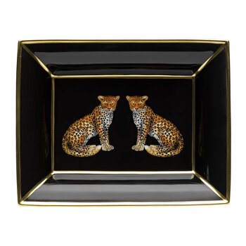 Magnificent Wildlife Trinket Tray - Leopard