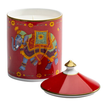 Ceremonial Indian Elephant Lidded Candle