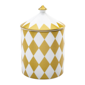Parterre Lidded Candle - Gold