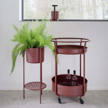 Ent Tall Planter - Medium - Red