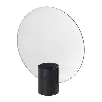 Pesa Marble Table Mirror - Black