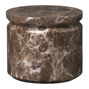 Pesa Marble Storage Box - Brown