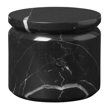 Pesa Marble Storage Box - Black