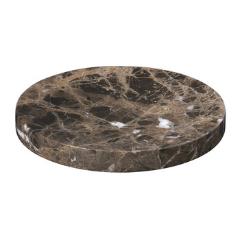 Pesa Marble Tray - Brown