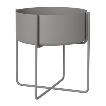Kena Plant Stand - Steel Grey - Large