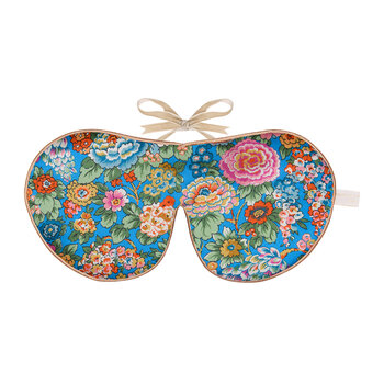 Liberty Print Silk Eye Mask - Elysian Day