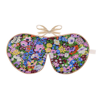 Liberty Print Silk Eye Mask - Thorpeness