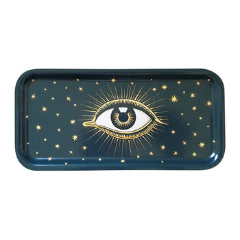 Wooden Eye Tray - Navy