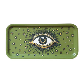Wooden Eye Tray - Olive