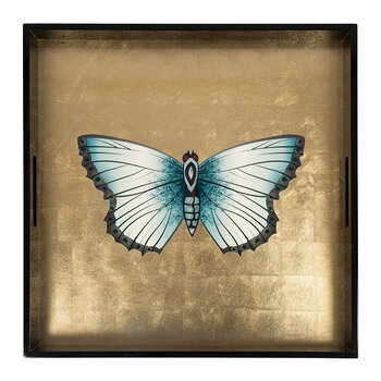 Butterfly Lacquer Tray