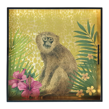 Matthew Williamson Lacquer Tray - Monkey