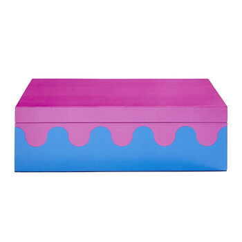 Ripple Box - Purple - Medium