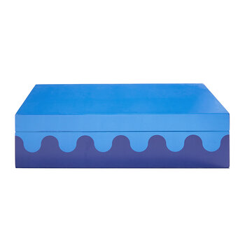 Ripple Box - Blue - Large
