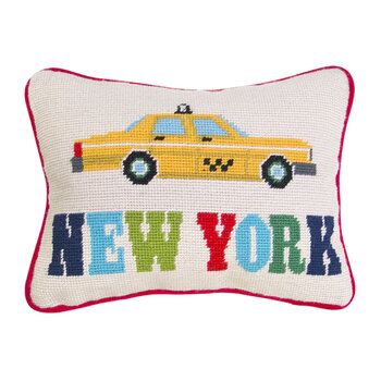 Jet Set Cushion - New York