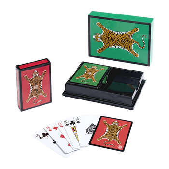 Tiger Lacquer Playing Card Set