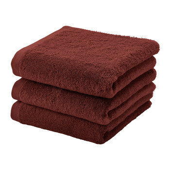 London Towel - Mahogany